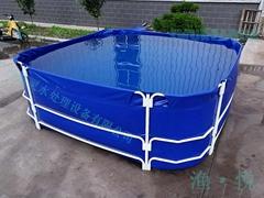 渔悦超厚帆布折叠可移动儿童泳池