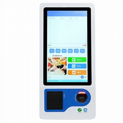 23.8 inch touch screen self-service payment machine kiosk