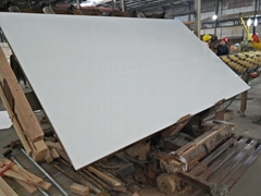 Nano White Crystal Glass Artificial Marble Slabs