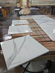 Nano Crystallized Glass Stone Artificial White Marble Stone Tiles