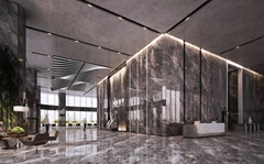 Nano Crystal Glass Stone Black Artificial Marble Floor Tiles Wall Cladding