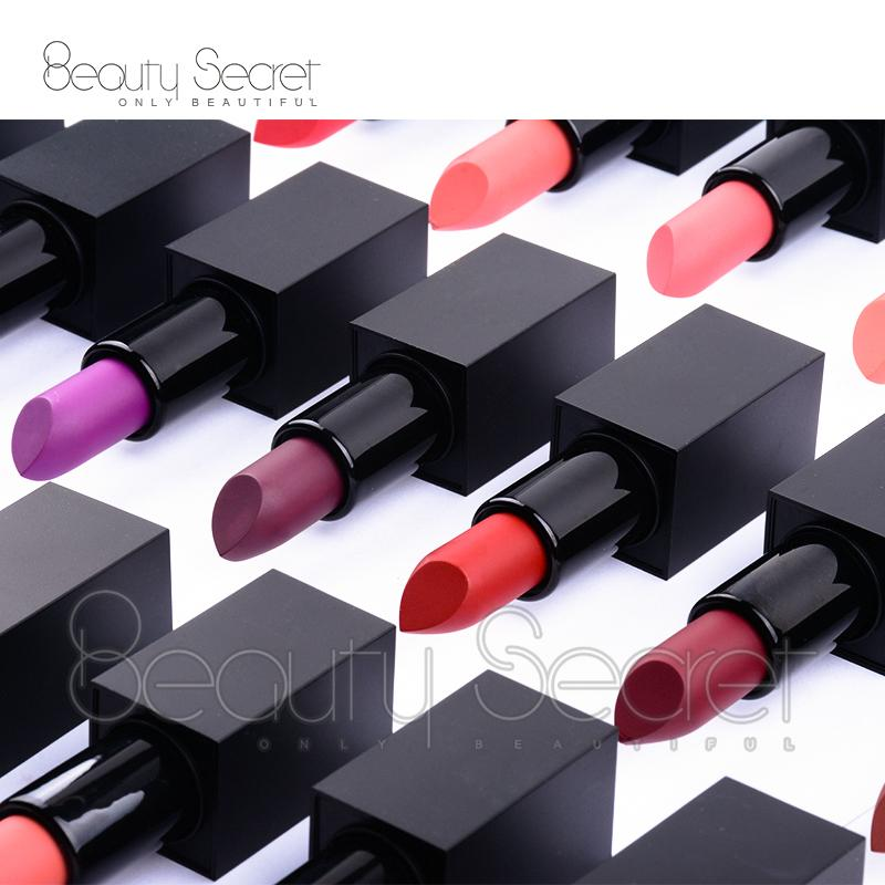 Best selling cosmetics tube organic vegan matte private label lipstick 4