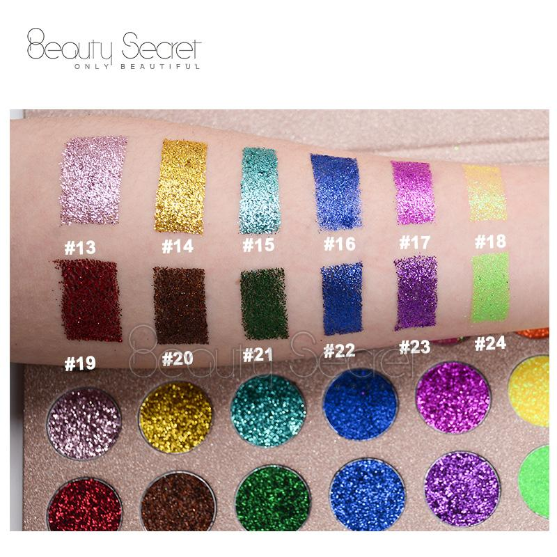 Professional Glitter Eyeshadow for Makeup Private Label Eyeshadow Palette 2