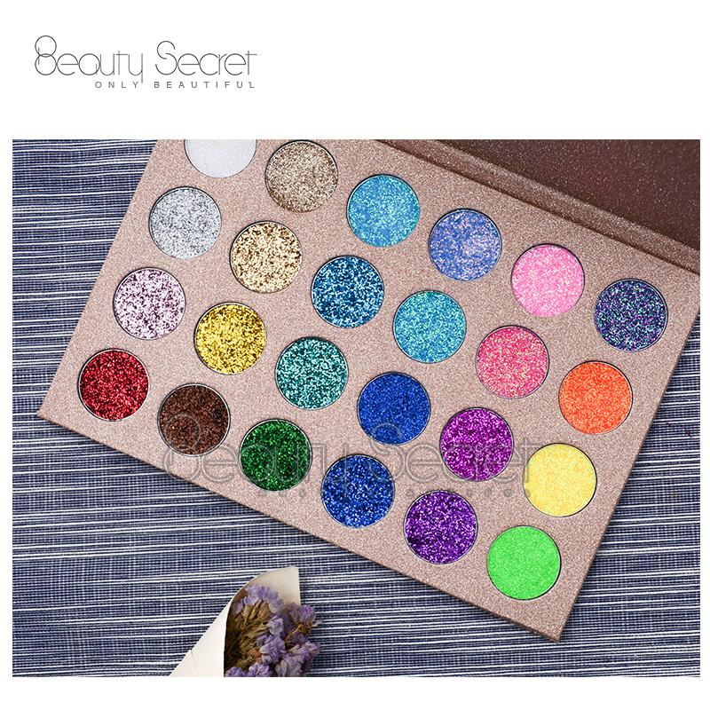 Professional Glitter Eyeshadow for Makeup Private Label Eyeshadow Palette 4