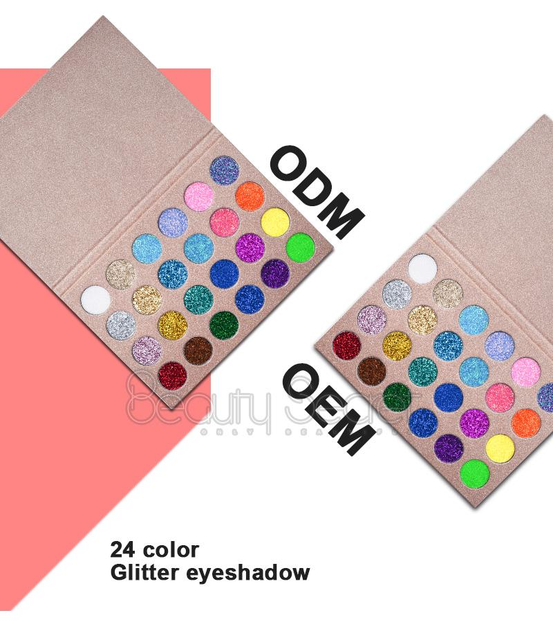 Professional Glitter Eyeshadow for Makeup Private Label Eyeshadow Palette 1