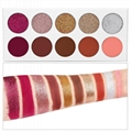 10 Colors 36mm Glitter Eye Shadow Palette Private Label Eyeshadow Palette 2