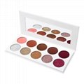 10 Colors 36mm Glitter Eye Shadow Palette Private Label Eyeshadow Palette 4
