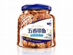 锦泉207克五香带鱼罐头青岛特产自产自销贴牌加工