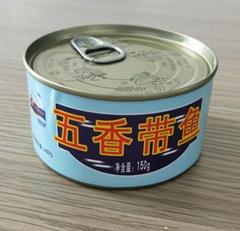 锦泉150克五香带鱼健康营养方便携带