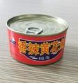 锦泉150克香辣黄花鱼罐头自产
