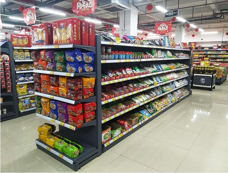 惠州超市便利店貨架蔬菜水果架批發 5