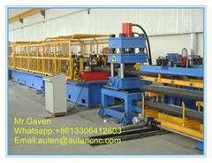 W Shape Highway Guardrail Roll Forming Machine