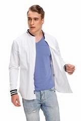 fashion slim fit mens Plaid shirts Casual Shirt