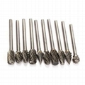 tungsten carbide burr for mold and metal