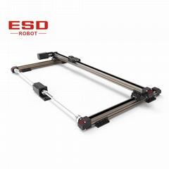 廣告機專用大行程雙出軸線性模組滑台三軸機器