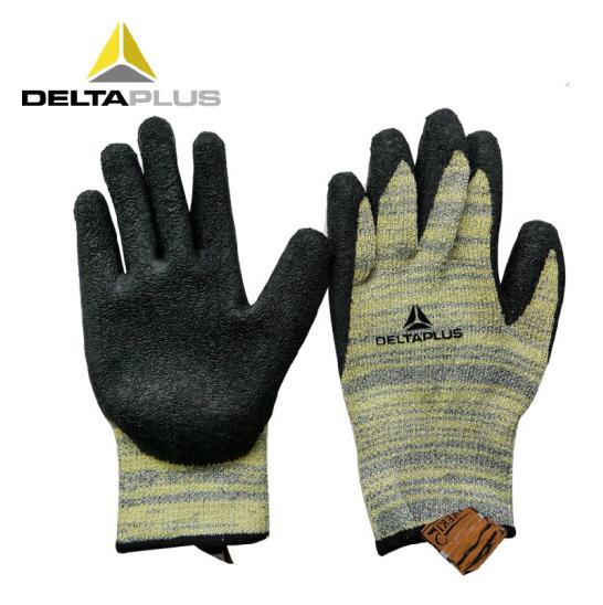 代尔塔乳胶涂层防切割防水耐磨损劳保手套 1