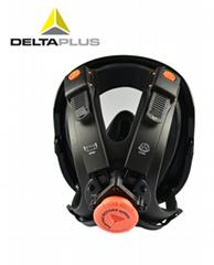代爾塔南京正品代理全面罩硅膠黑色