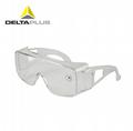 代尔塔防雾防冲击防紫外线护目镜