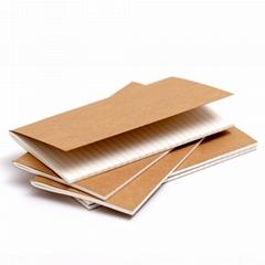 Custom  school Gift office printed a4 plain kraft notebook