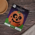 smiling faces glitter EVA stickers adhesive decorated Halloween's pumpkin 3