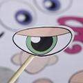 定制广告logo透明儿童diy表情秀换装静电膜贴 4