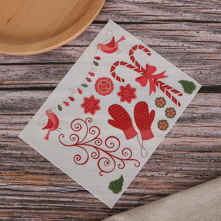 可定制装饰贺卡手帐本diy儿童转印刮刮贴纸 1