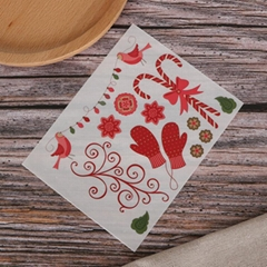 可定制装饰贺卡手帐本diy儿童转印刮刮贴纸