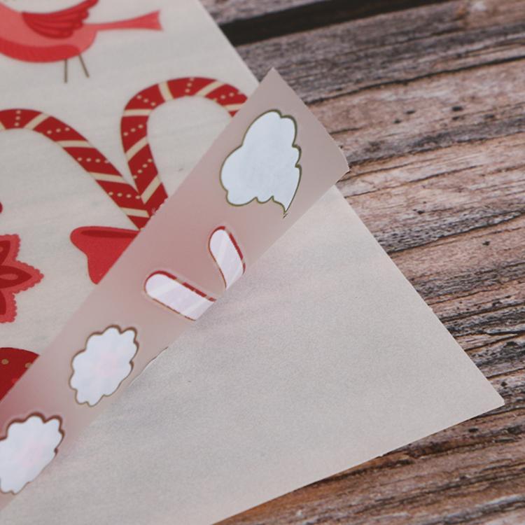 可定制装饰贺卡手帐本diy儿童转印刮刮贴纸 3