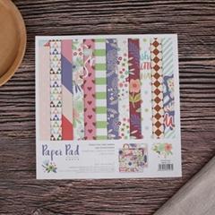 手工纸装饰纸艺术纸包装纸 DIY 剪切相册纸缤纷底纸合集