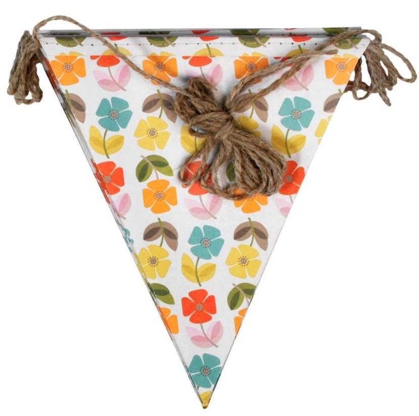 paper Custom Triangle Pennant Flags Party Triangle Flags  string bunt 1