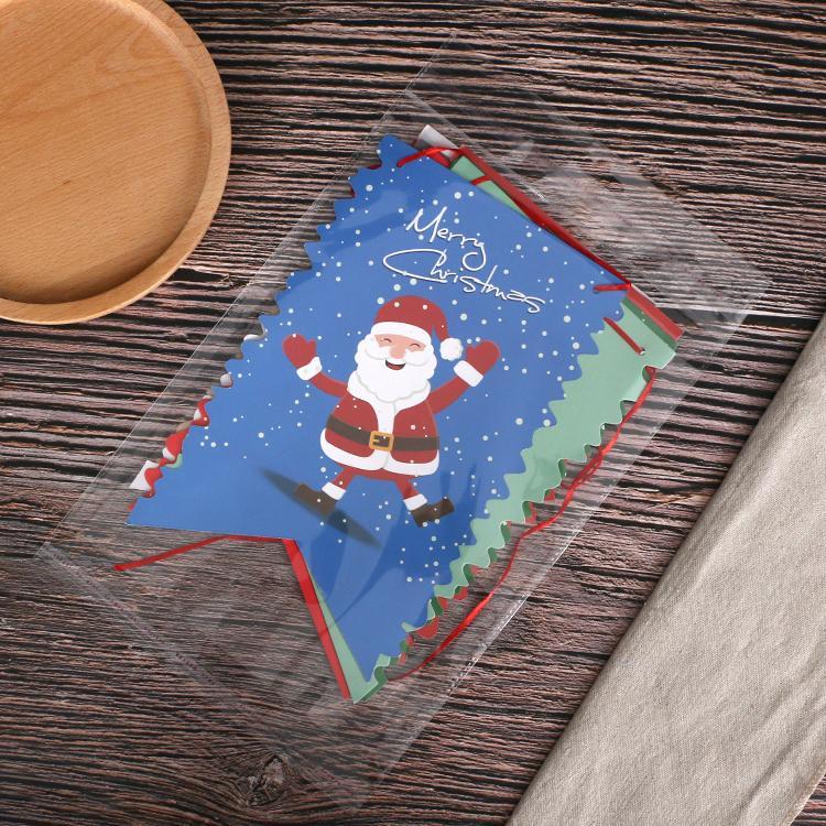 定製創意派對節假日聖誕麻繩挂三角旗紙質串旗 3