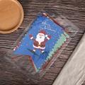 定制创意派对节假日圣诞麻绳挂三角旗纸质串旗 3