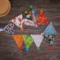 paper Custom Triangle Pennant Flags Party Triangle Flags  string bunt 4