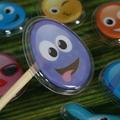 Eco Friendly Custom Design OEM for Kids 3D Bubble Eva Foam puffy sticker 2