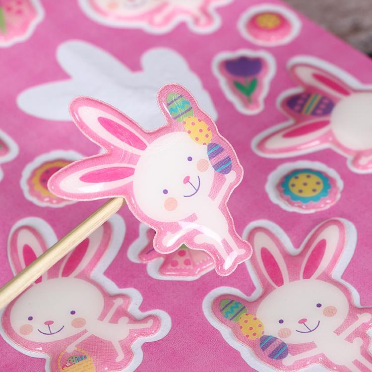 Eco Friendly Custom Design OEM for Kids 3D Bubble Eva Foam puffy sticker 3