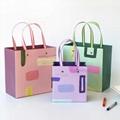 纸袋定做印logo定制礼品袋手提袋厚服装店小清新铆钉纸袋大号 3