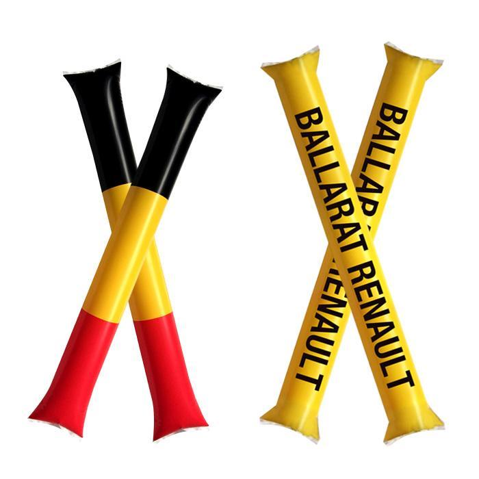 加油棒充氣啦啦棒打擊棒歡呼棒運動會拉拉助威棒氣球定製印字logo 2