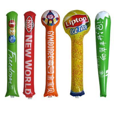 加油棒充氣啦啦棒打擊棒歡呼棒運動會拉拉助威棒氣球定製印字logo 3