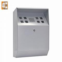 GH-C3P wall mounted ga  anized  iron  ashtray bin