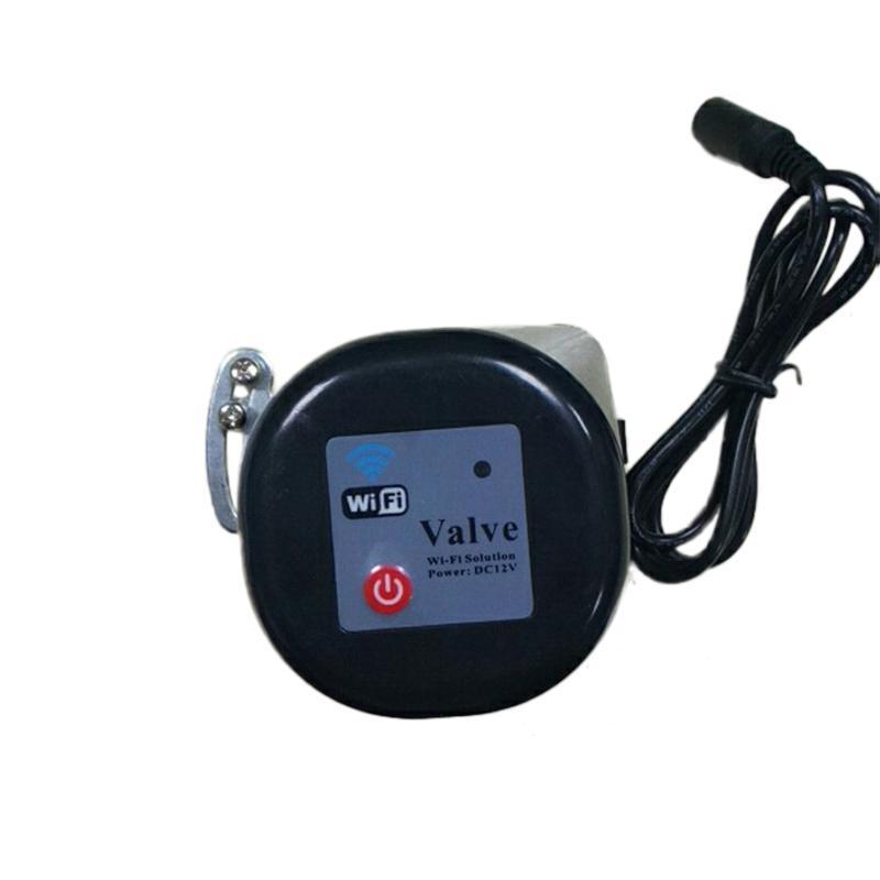 Wireless WiFi Smart Water Leakage And Motorized Va  e Kit DIY Phone App Control  5