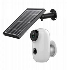 Tuya smart life security camera system outdoor Solar Battery Powered WiFi Camera