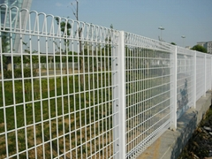3D Welded Wire Security Mesh Fence