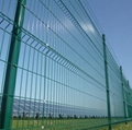 Security and Protection Welded Wire Mesh Panels Fencing for Industrial Area