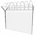 galvanized 8 foot chain link diamond wire mesh fence