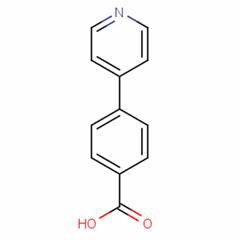 Benzoic acid,4-(4-pyridinyl)-