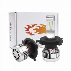 Good Quality Auto LED Headlight Bulb 52W Hi Lo Beam H4