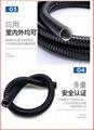 P3型包塑金屬軟管穿線管Φ15 3