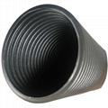 大口径塑料波纹管PP PA软管