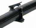 PA尼龍連體帶蓋固定支架固定座管夾 2