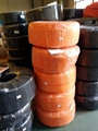 PA尼龙阻燃橙色灰色塑料波纹管